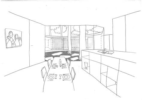 Sketch Of Kitchen by Architecture Photography Kitchen Sketch 209131