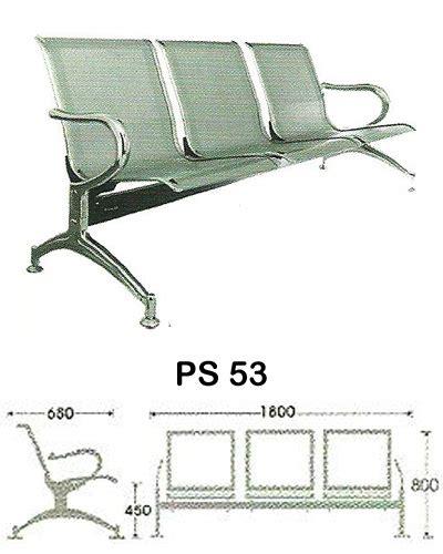 Kursi Ruang Tunggu Kantor kursi tunggu indachi ps 53 sentra kantor surabaya