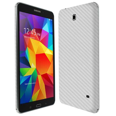 Samsung Tab 4 8 skinomi techskin samsung galaxy tab 4 8 0 silver carbon fiber skin protector