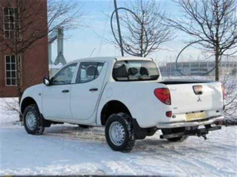 mitsubishi l200 2007 2007 mitsubishi l200 2 5 di d diesel 4 work 4x4 pickup
