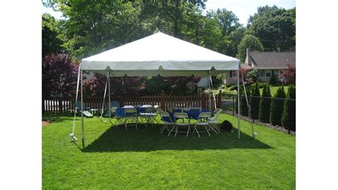 chair and table rentals in sterling va 15 x 15 frame tent rentals 249 day
