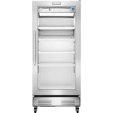 Commercial Refrigerator Glass Door Frigidaire Commercial 18 4 Cu Ft Food Service Grade Glass Door Merchandiser Refrigerator In