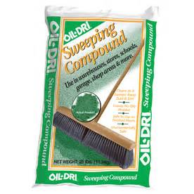 shop dri green sweeping compound at lowes
