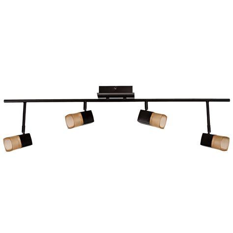 Led Directional Light Bar Hton Bay Led 4 Light Directional Light Bar The Home Depot Canada