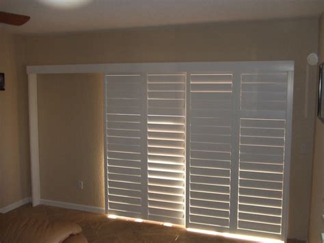 Shutter Blinds For Patio Doors by Door Shutters Plantation Shutters For Doors Interior