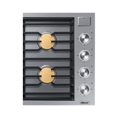 Dacor Cooktops - dtg30m954fsdacor modernist 30 quot gas cooktop ng stainless
