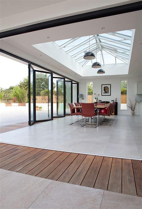 burghfield house modern sunroom london  bonsai group