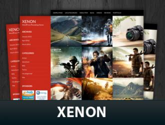 Theme Wordpress Xenon | xenon wordpress theme fabthemes com