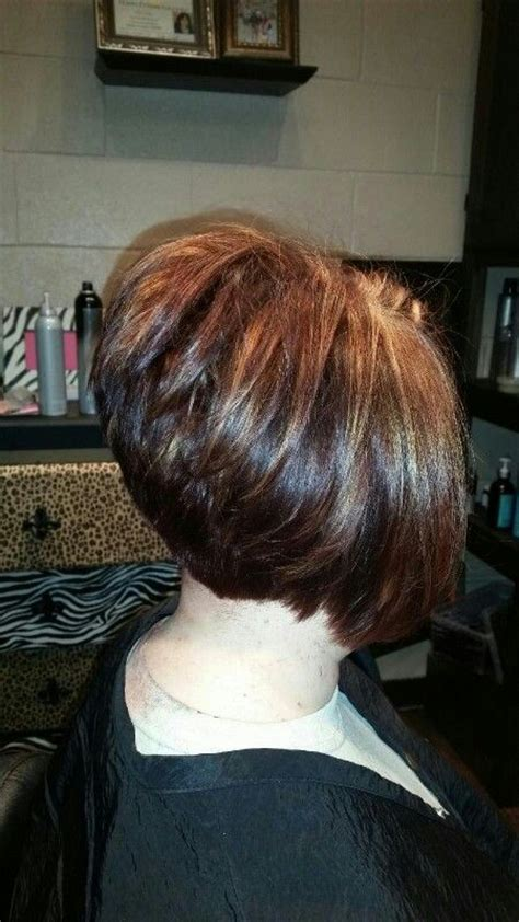 high angled stacked bob 17 best images about bob pixie and short hair on pinterest