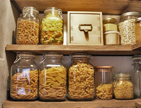Dried Pasta Shelf by Check Out These 40 Ways To Fill Your Apothercary Jars