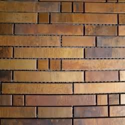 bronze brass backsplash metal mosaic tile home improvement