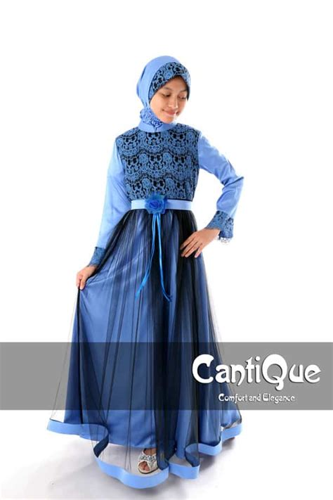 Gamis Pesta Anak Muslim Jual Baju Gamis Anak Anak Gerai Cantique