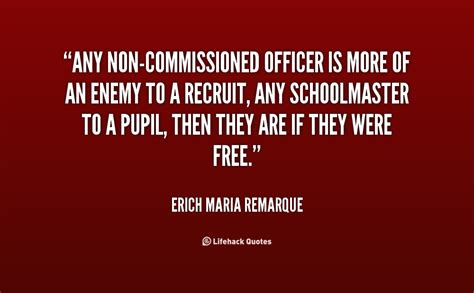 What Is A Non Commissioned Officer by Non Commissioned Officer Quotes Quotesgram