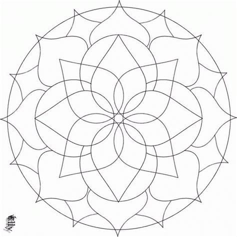 figuras geometricas bonitas 11 mandalas para colorear con figuras geom 233 tricas