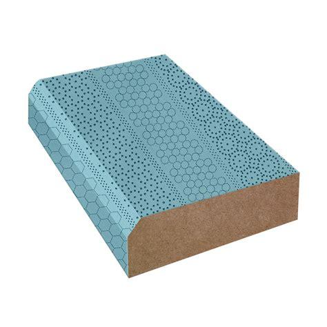 bullnose edge formica countertop trim aqua dotscreen