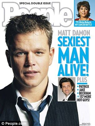 Sexiest Alive Magazine Cover Template A Look Back At People Magazine S Sexiest Man Alive Winners Over The Years Daily Mail Online