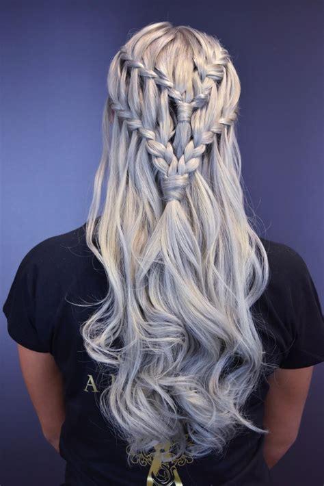 hairstyles khaleesi game of thrones khaleesi plait hairstyle popsugar beauty uk