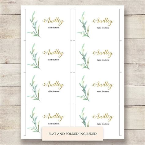 printable number place cards sweet bomb printable wedding order of service template