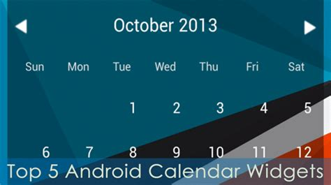 calendar widgets for android 5 top calendar widgets for android stay on top of your schedule