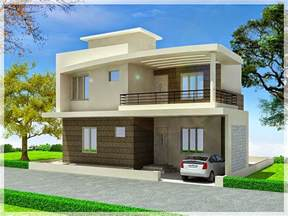 simple modern minimalist exterior duplex home plan version small house design designs floor plans architect