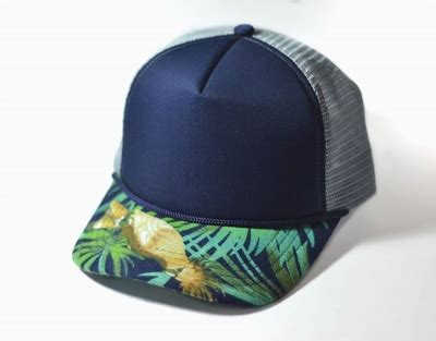 Topi Trucker Apple Navy fitfos fashion store indonesia