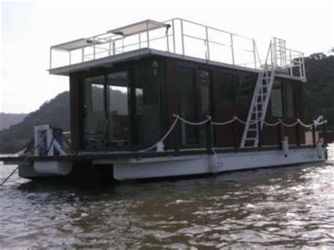 homemade house boats homemade pontoon house boats