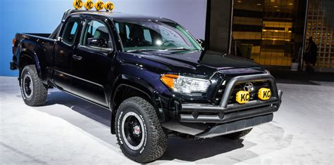 Toyota Truck Back To The Future Toyota Tacoma Back To The Future Truck 2015 La Auto Show
