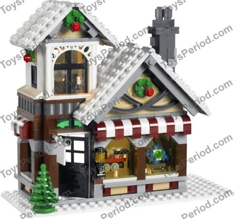 Lego 10199 Winter Shop 815 Pieces lego 10199 winter shop set parts inventory and lego reference guide