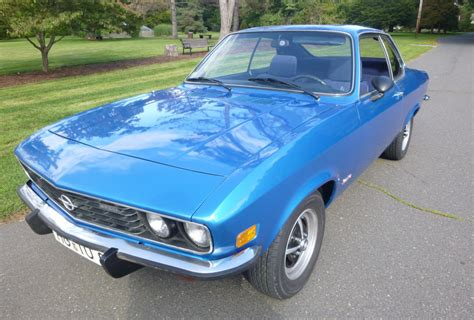 1973 opel manta 1973 opel manta for sale on bat auctions closed on may