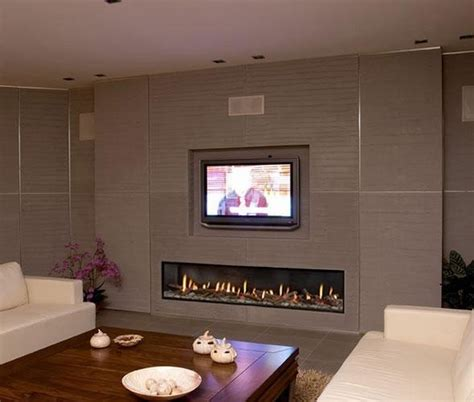 Living Room With Modern Fireplace And Tv Ortal Clear 200 Fireplace Modern Living Room Denver