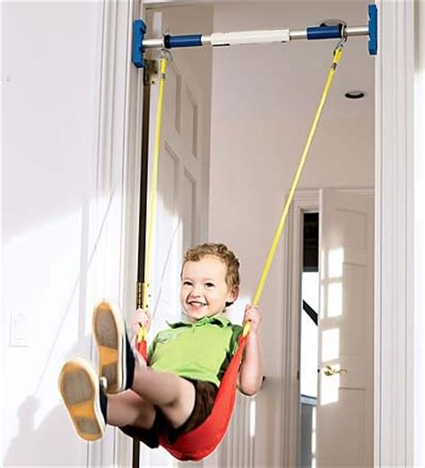 swing pul indoor swing doorway frame pull up bar pinterest