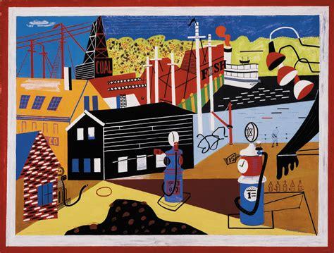 stuart davis swing landscape he made it american by sanford schwartz the new york