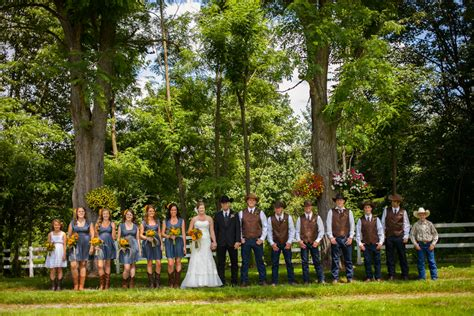 washington state country barn wedding rustic wedding chic