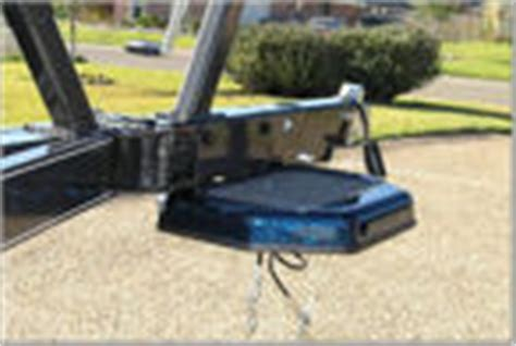 bass boat trailer step and pole bass cat boats trailer steps and grab poles