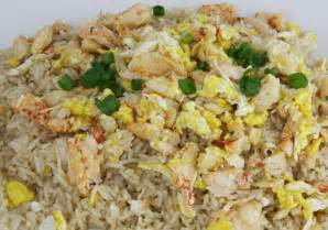 Chinese Main Dish - fried rice with sea crab meat phu quoc homestay