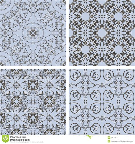 pattern blue brown blue and brown patterns vector illustration