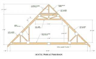 attic trusses truss engineering design fabrication amp useage eng garage roof