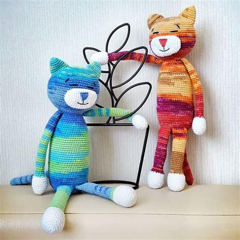 large pattern large ami cat crochet pattern amigurumi today
