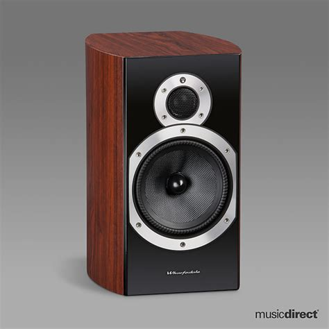 wharfedale 10 2 bookshelf speakers rosewood