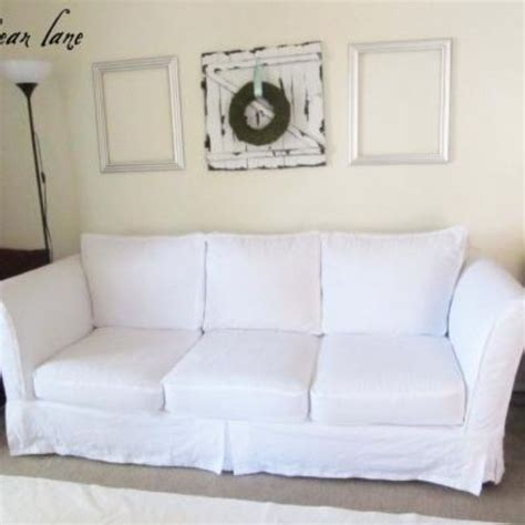 Diy Sofa Slipcover by Slipcover Diy Slipcovers Upholstery Diy Really