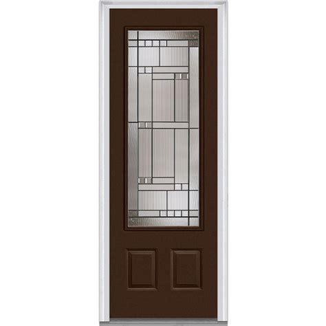 Milliken Doors by Milliken Millwork 36 In X 96 In Kensington Left 3 4