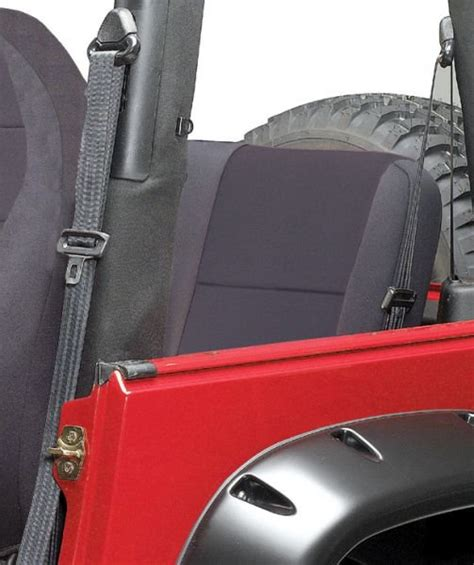 jeep yj rear seat cover coverking rear seat cover for 87 91 jeep 174 wrangler yj