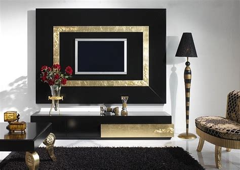 black gold living room luxus black and gold leaf living room set collection