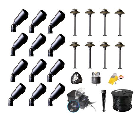 Best Buy Complete Premium Landscape Lighting Diy Kits Landscaping Lighting Kits