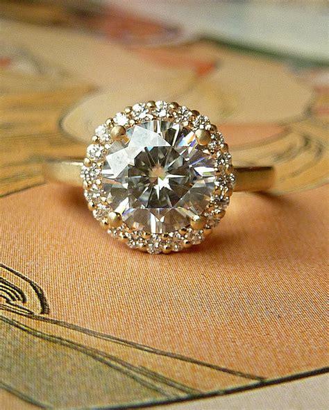 halo engagement ring with moissanite original jpg