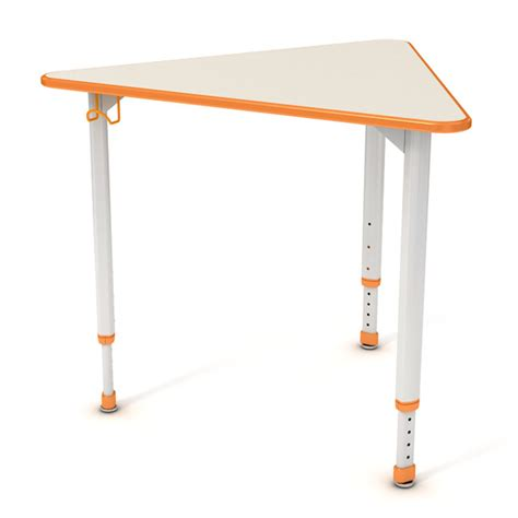 Triangle Desk by Paragon Atri Triangle Collaborative Desk 30 Quot D X 34 Quot L