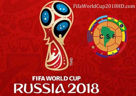 fifa result 2018 fifa world cup 2018 qualification conmebol schedule