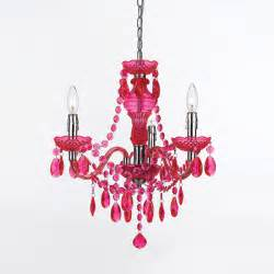 Mini Pink Chandelier Fulton Pink Chandelier By Angelo Home Eclectic