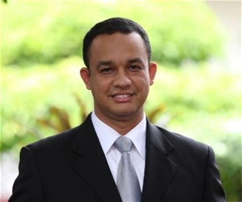 biografi anies baswedan menteri biografi anies baswedan intelektual muda indonesia
