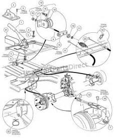 Club Car Brake System 2001 2004 Pioneer 1200 1200se Club Car Parts Accessories